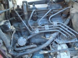 トラクターのエンジン